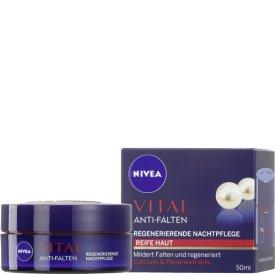 Nivea Nachtpflege Visage Vital aufbauende Nachtcreme