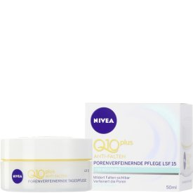 Nivea  Anti-Falten Tagespflege Visage Q10 Porenverfeinernde