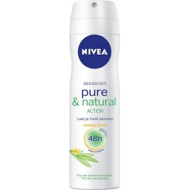 Nivea Deo Spray Pure & Natural Action Jasmin
