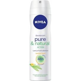 Nivea Deo Spray Pure & Natural Action Jasmin