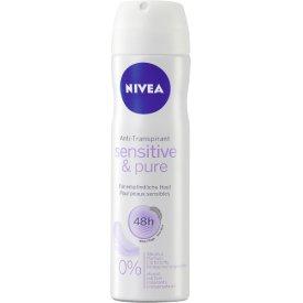 Nivea Deo Spray  Sensitive & Pure für Frauen
