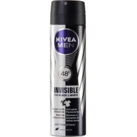 Nivea Deo Spray Black & White Invisible Power for men