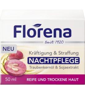Florena Nachtpflege Traubenkernöl & Sojaextrakt