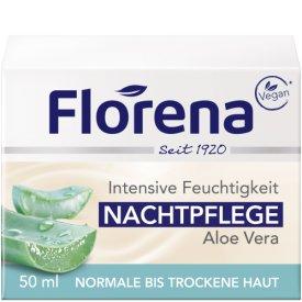 Florena Nachtpflege mit Bio-Aloe Vera