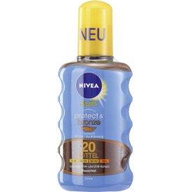 Nivea Sun Protect Bronze Sonnenspray LSF20
