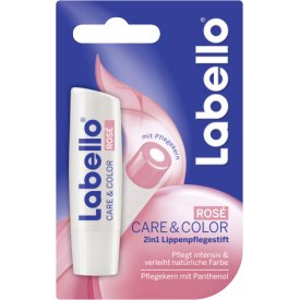 Labello Lippenpflegestift Care & Color Rosé