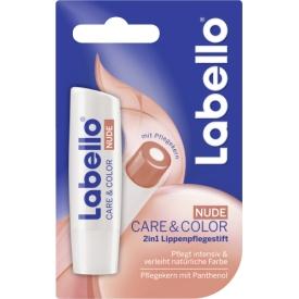 Labello Lippenpflegestift Care & Color Nude