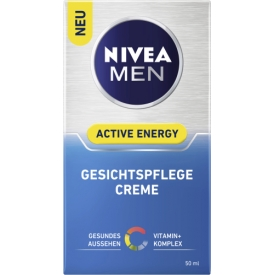 Nivea For Men Nivea Men Active Energy Gesichtspflege Creme ohne Q10