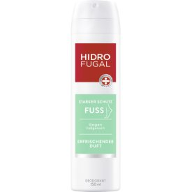 Hidrofugal Fuss-Spray kühlend