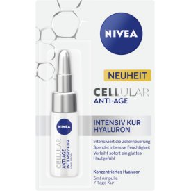 Nivea  Spezialpflege Ampulle CELLular Anti-Age Intensiv Kur Hyaluron