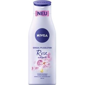 Nivea Körperlotion Sensual Rose   Arganöl
