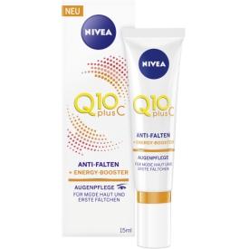 Nivea Augencreme Q10plusC Anti-Falten Energy Booster