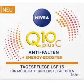 Nivea Tagespflege Q10 plus C Anti Falten Energy Booster LSF 15