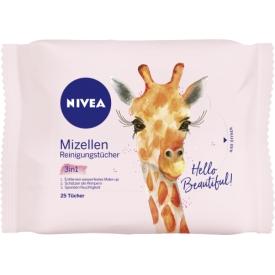 Nivea Mizellen Reinigungstücher Design Edition Giraffe