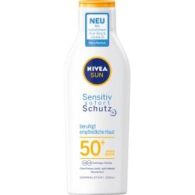 NIVEA SUN Sensitiv sofort Schutz Sonnenlotion