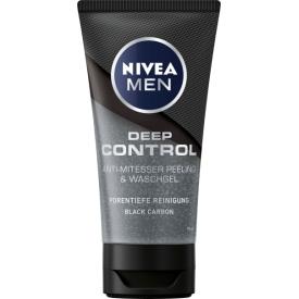 Nivea Men Deep Control Anti-Mitesser Peeling & Waschgel