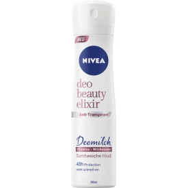 Nivea Deo Spray Antitranspirant Beauty Elixir Deomilch