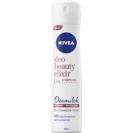 Nivea Deo Spray Deodorant Beauty Elixir Deomilch