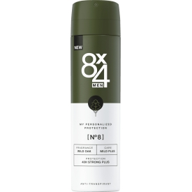 8x4 men Deospray No.8 Wild Oak