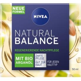 Nivea Nachtcreme Natural Balance