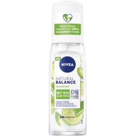 Nivea Deo Zerstäuber Deodorant Natural Balance Aloe Vera