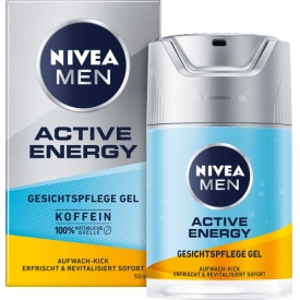 Nivea Men Active Energy Gesichtspflege Gel Koffein