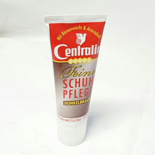 Centralin Feine Schuhpflege Creme Dunkel Braun