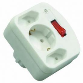 Rev Ritter Überspannungsschutzstecker Adapter mit Schalter
