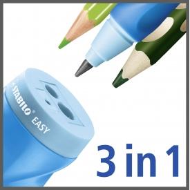Stabilo Dosenspitzer Easy für Rechtshänder blau