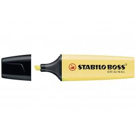 Stabilo BOSS Textmarker Pastel pudriges Gelb