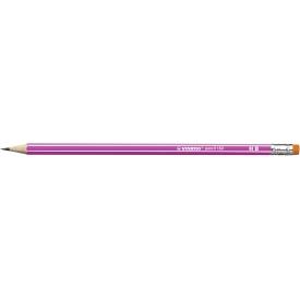 Stabilo Bleistift pencil 160 HB mit Radierer pink