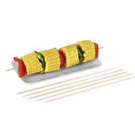 Kögler Schaschlikspieße einseitg spitz 20cm 100er Beutel