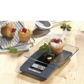 Soehnle Küchenwaage Fiesta digital 5kg Tragkraft grau