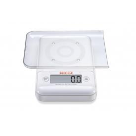 Soehnle Küchenwaage Ultra 2.0 digital 500g Tragkraft weiß