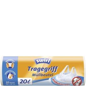 Swirl Müllbeutel Tragegriff antibakteriell