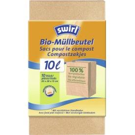 Swirl 10 l Bioabfall-Beutel