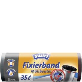 Swirl 35 l Müllbeutel Fixierband