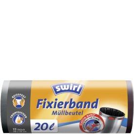 Swirl 20 l Fixierband Müllbeutel