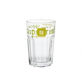 Rastal Caipirinha-Glas mit trendigem Motiv 36 cl Ø12cm