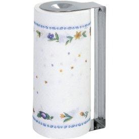 Gefu Papierrollenhalter mit Papierrolle Edelstahl 26cm