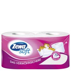 Zewa Soft Toiletten Papier 4lagig