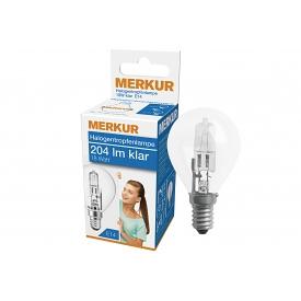 Merkur Halogen Tropfenlampe E14 204lm klar 18 Watt