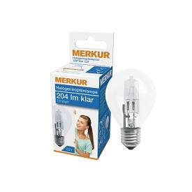 Merkur Halogen Tropfenlampe E27 204lm klar 18 Watt