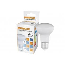 Merkur LED Reflektorlampe R63 6 Watt 440 Lumen (vgl. 40W), E27 6 W A++ 0 Birne