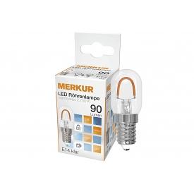 Merkur LED Glühlampe 1 Watt 90 Lumen (vgl. 15W), E14, klar 1 W A++ 0 Birne