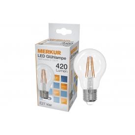 Merkur LED Faden Glühlampe Retrofit E27 470lm 4 Watt