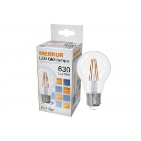 Merkur LED Faden Glühlampe Retrofit E27 630lm 6 Watt
