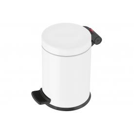 Hailo Tret-Kosmetikeimer Solid S 4l Ø18cm weiß