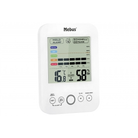 Mebus Hygrometer/Thermometer mit Schimmelalarm