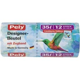 Pely Designer Beutel mit Zugband 35L